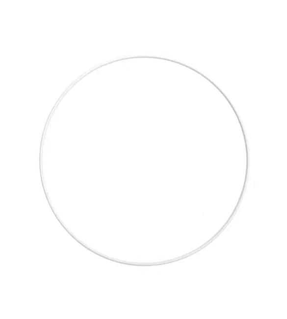 Aro Metálico Branco 25cm
