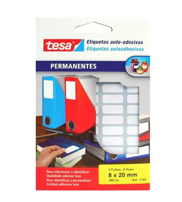 Etiquetas Tesa 5115 13x38