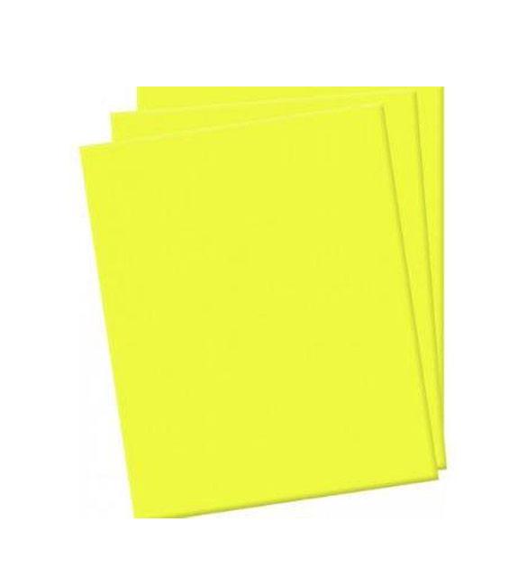 Folha de eva amarela
