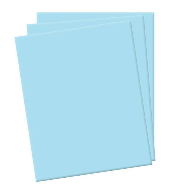 Folha de eva azul claro