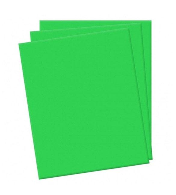 Folha de eva verde alface