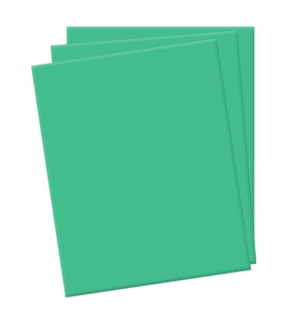 Folha de eva verde médio