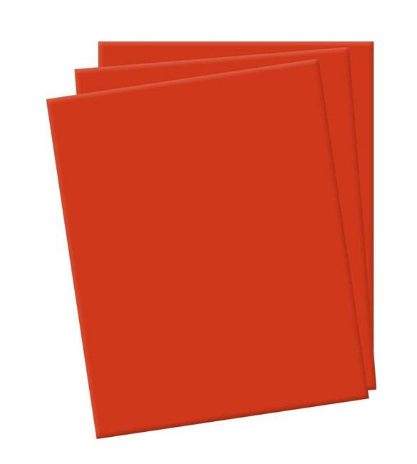 Folha de eva vermelha