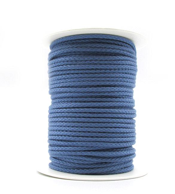 Cordão de Algodão Azul Ganga