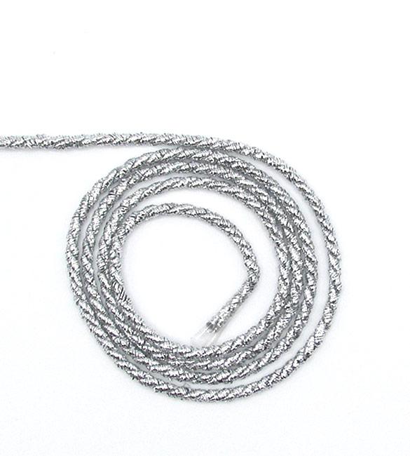 Cordão Prata 2mm