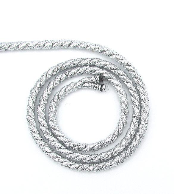 Cordão Prata 5mm