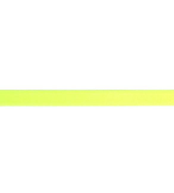 Fita Cetim Amarelo Fluorescente