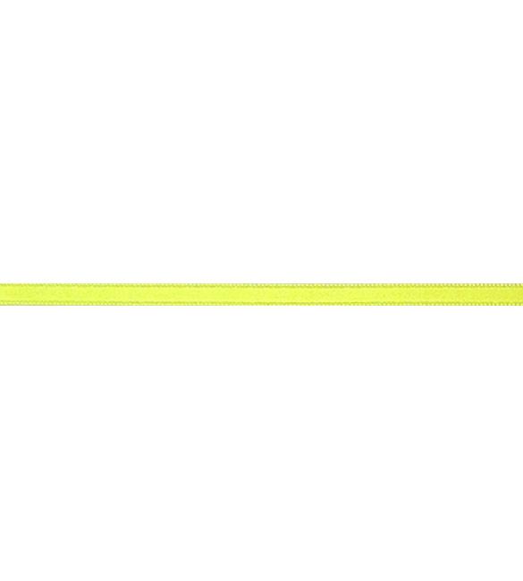 Fita Cetim Amarela 6mm