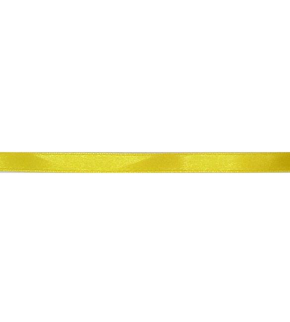 Fita Cetim Amarelo Torrado 10mm