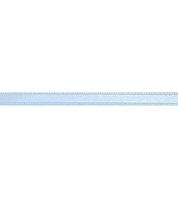 Fita Cetim Azul Bebé 6mm