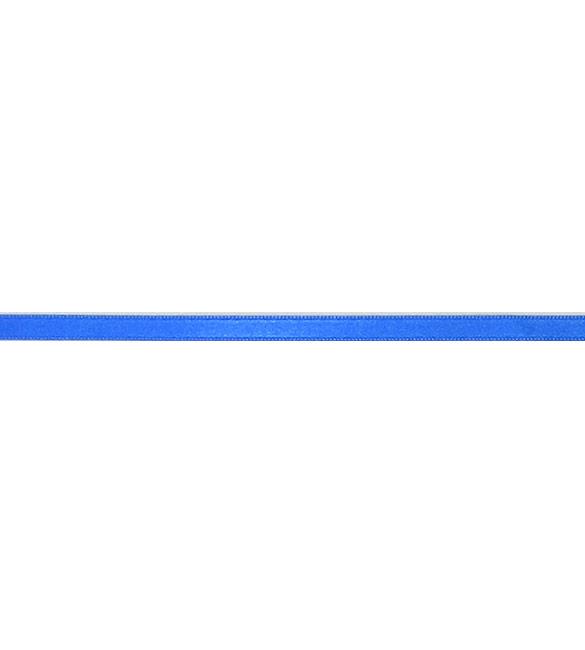 Fita Cetim Azul Dragão 6mm