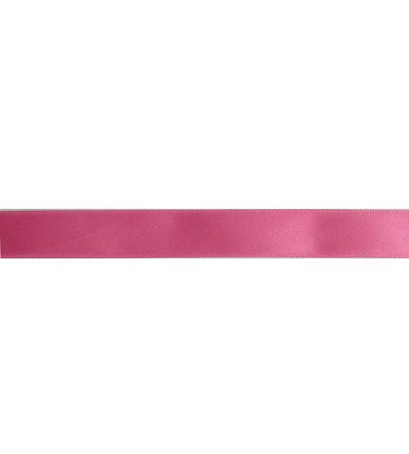 Fita Cetim Rosa Chiclete -15mm