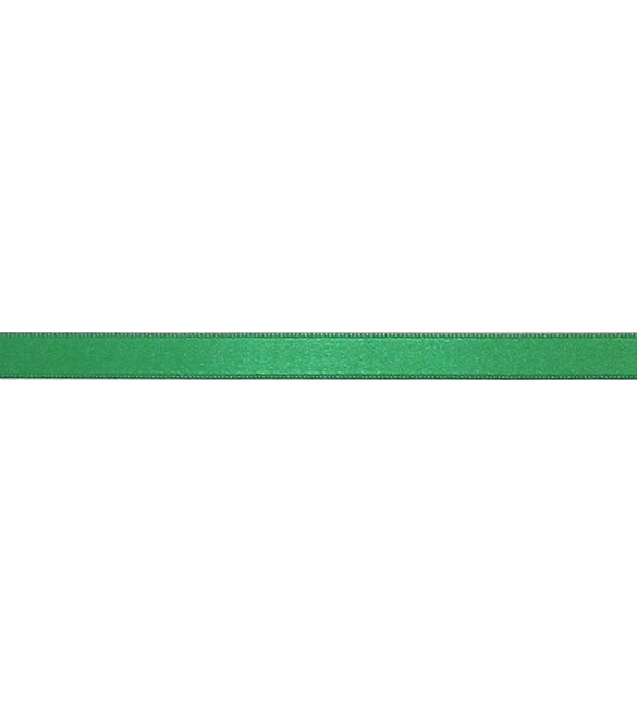 Fita Cetim Verde Natal 10mm