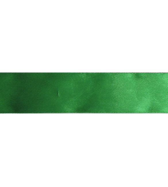 Fita Cetim Verde Relva 40mm