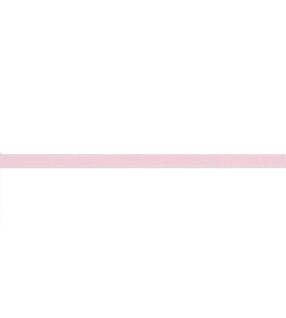 Fita Gorgurão Rosa Bebé 6mm