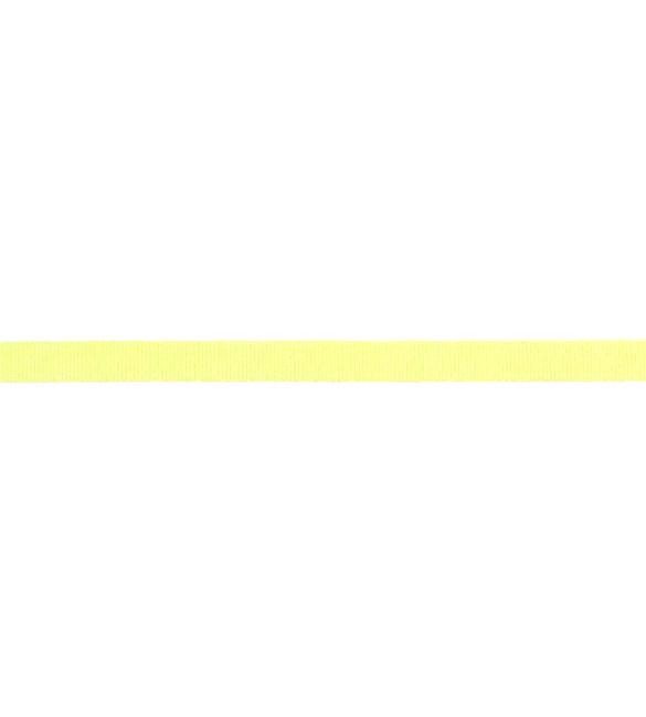 Fita Gorgurão Amarela Claro 10mm