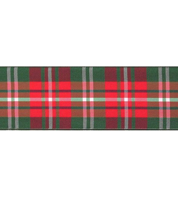 Fita Escocês Vermelho / Verde