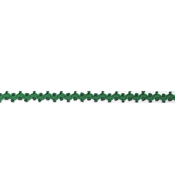 Fita grega espiguilha verde