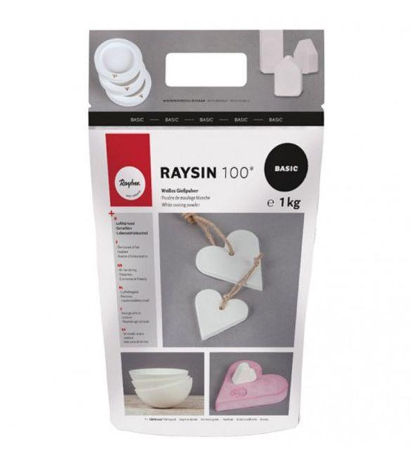 Gesso Cerâmico Raysin 100 Branco 1 kg