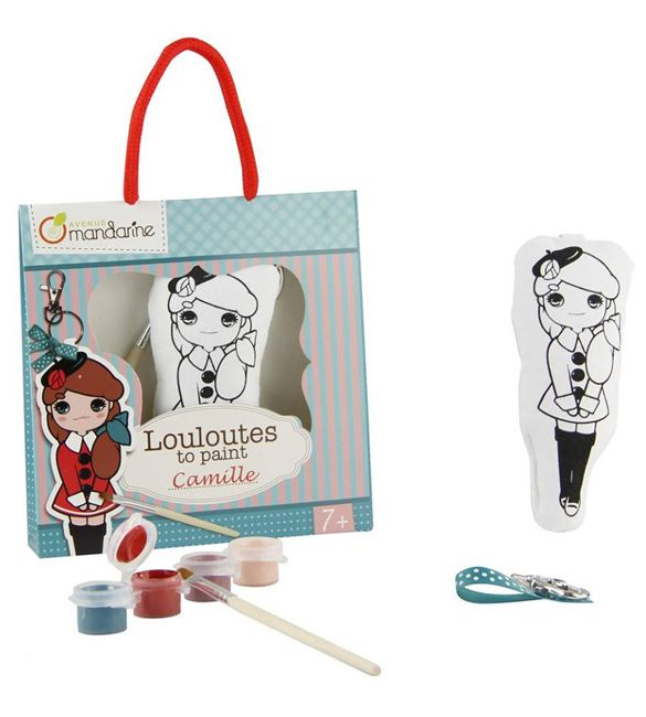 Louloutes Camille para pintar