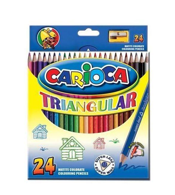 Lápis de cor carioca 24 Uni
