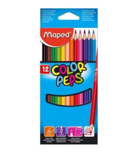 LÁPIS DE COR Maped 12 CORES