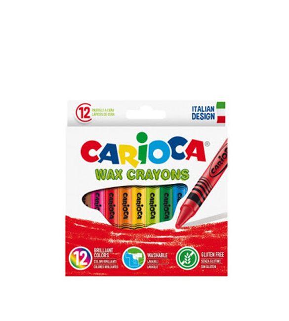 Lápis de cera carioca 12