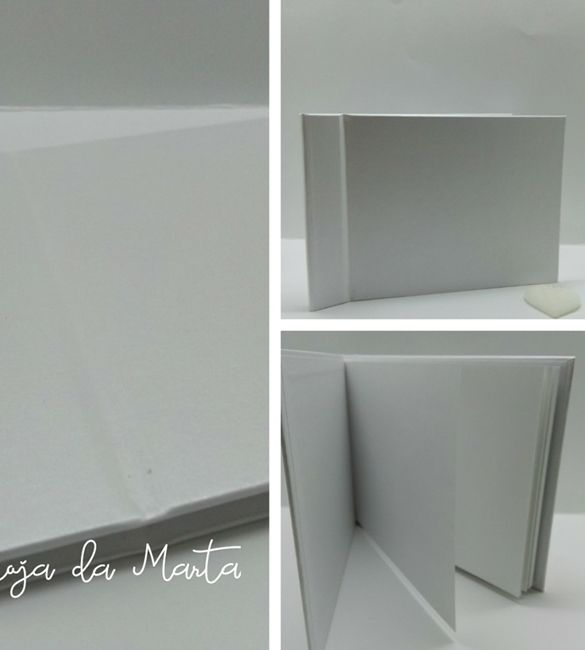 Album / Livro de Honra A4 branco