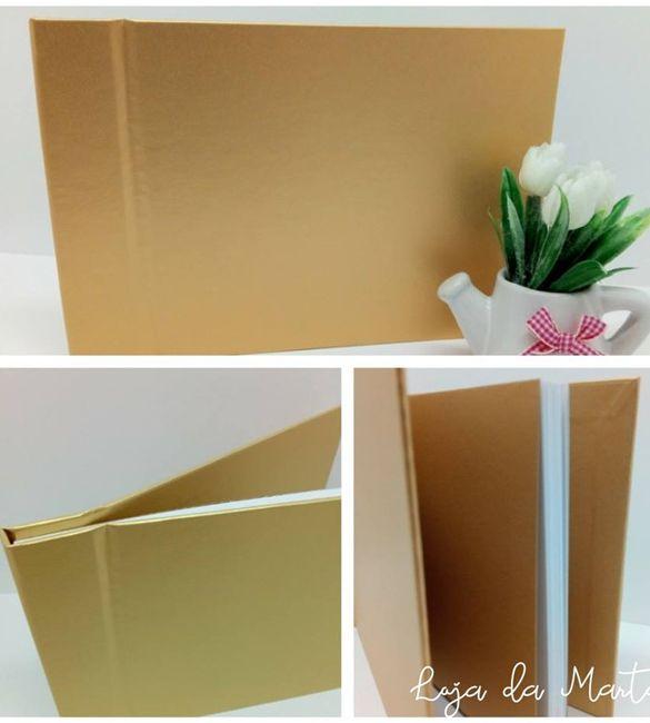 Album / Livro de Honra A4 Dourado
