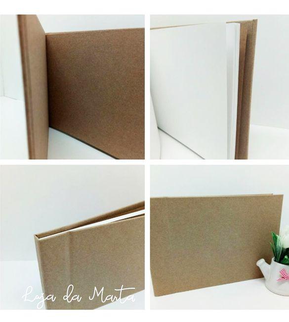 Album / Livro de Honra A4 Kraft