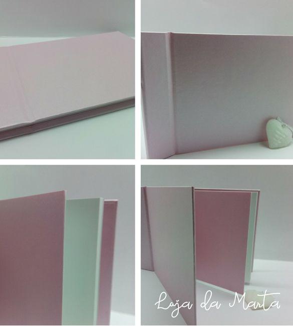 Album / Livro de Honra A5 rosa