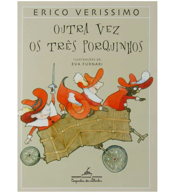 Livro - Outra Vez os Três Porquinhos