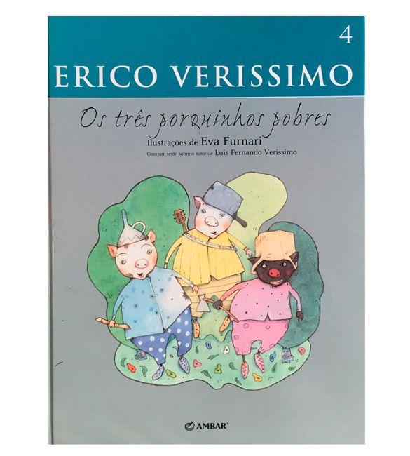 Livro -  os Três Porquinhos pobres