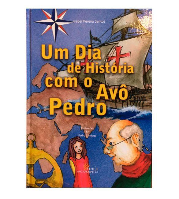 Livro -  Um dia de histórias com o avô Pedro