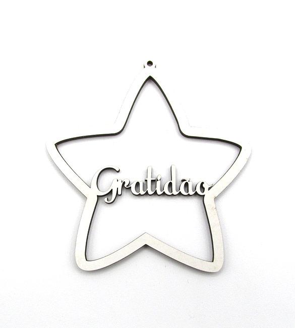 Estrela de Natal Gratidão
