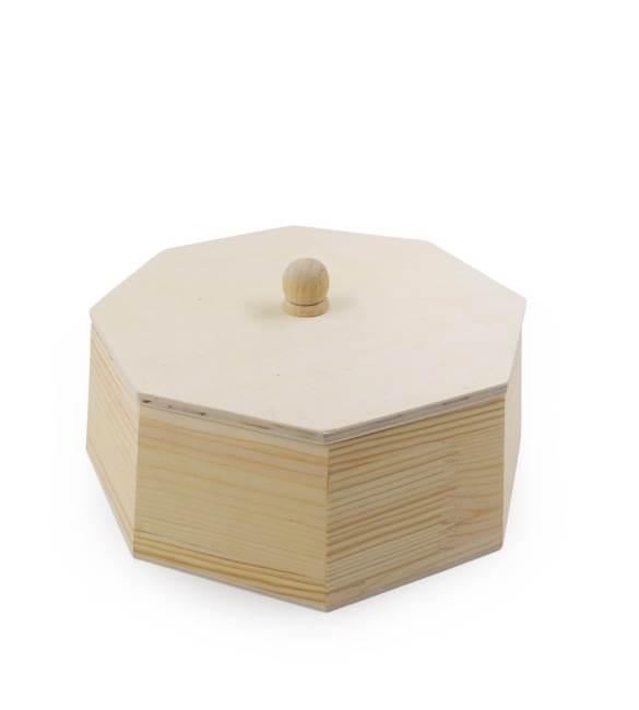 Caixa em forma de hexágono