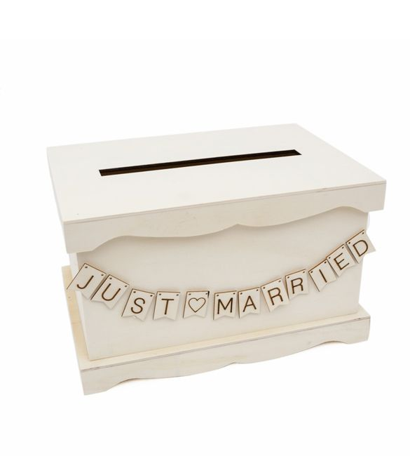 Caixa para envelopes just married