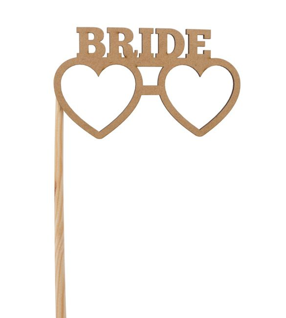 Óculos Bride em mdf