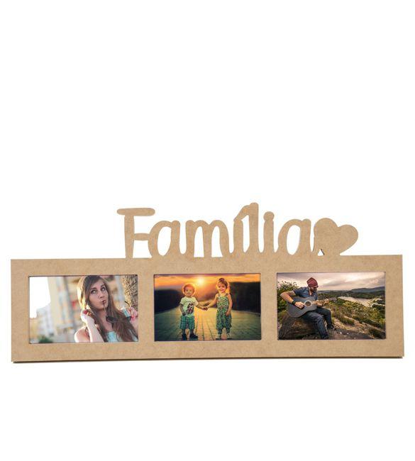 Moldura Família em MDF