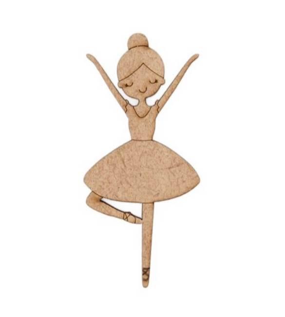 Bailarina 6cm altura