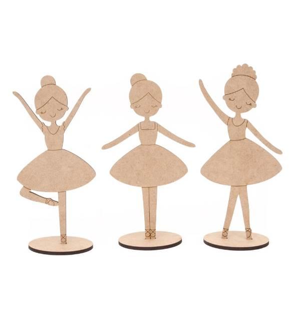 Conjunto 3 Bailarinas
