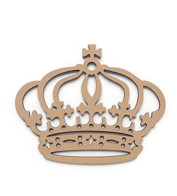 Coroa recortada