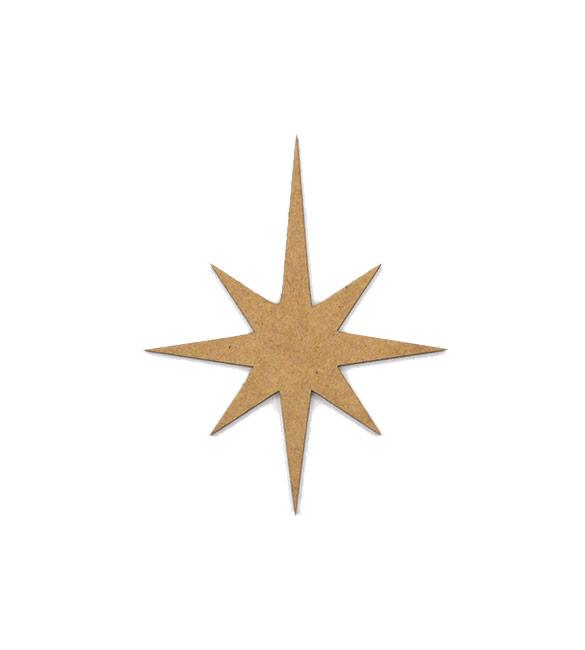 Estrela em mdf