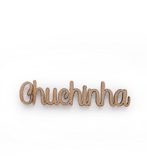 Recorte Chuchinha em mdf