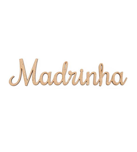 Palavra Madrinha Recortada