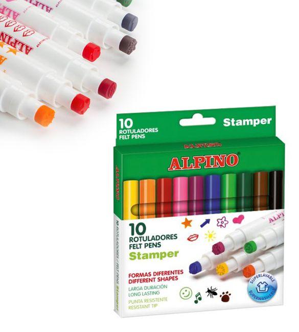 Alpino Stamper Caixa 10