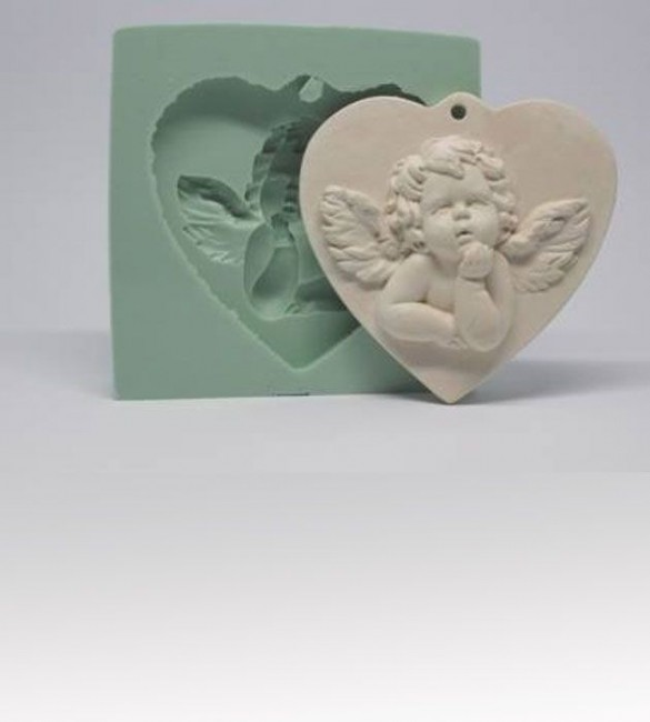 Molde Silicone LOVE ANGELICAL