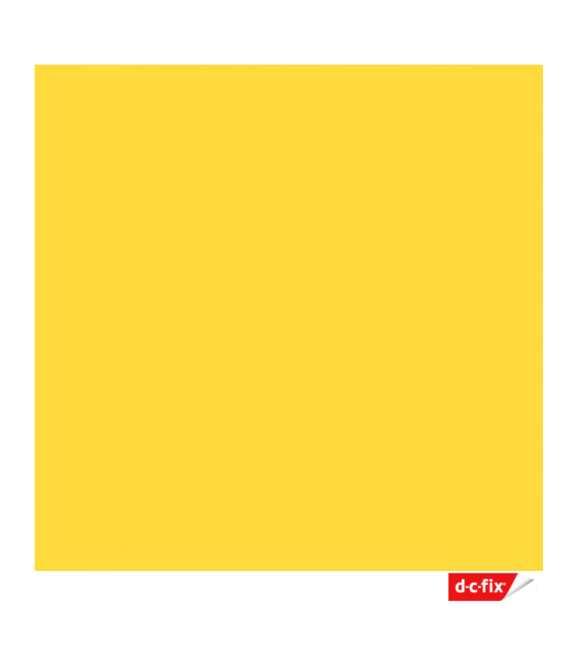 Película auto-adesiva amarelo limão