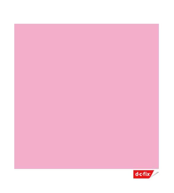 Película auto-adesiva rosa claro