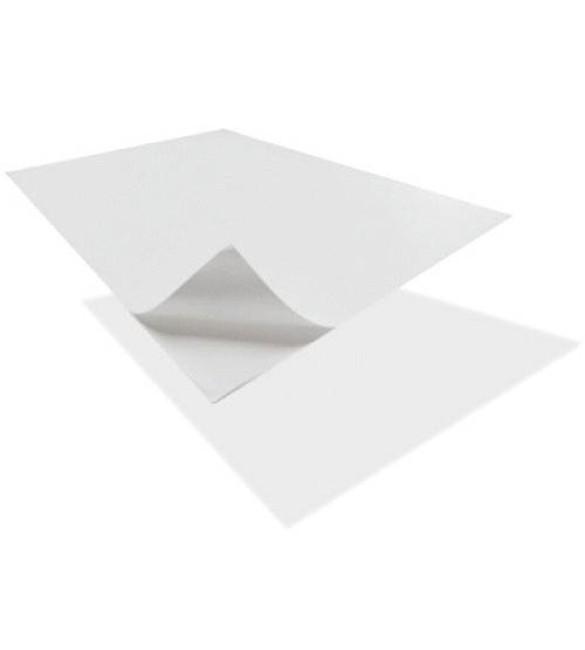 Folha de Papel Autocolante Branca mate A4